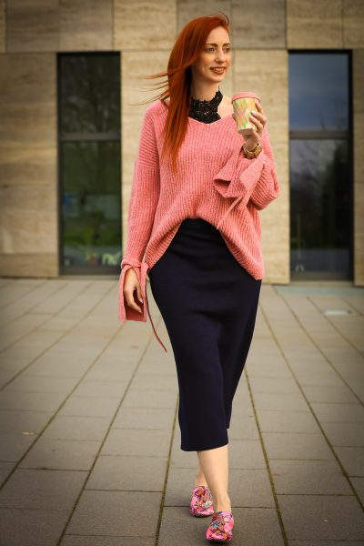Mango Pink Sweater