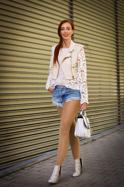 Shortslook mit S'Oliver